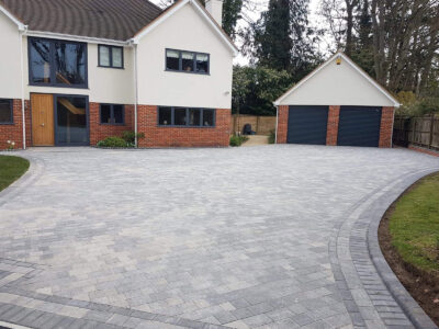 1 driveway design reconstruction henley on thames