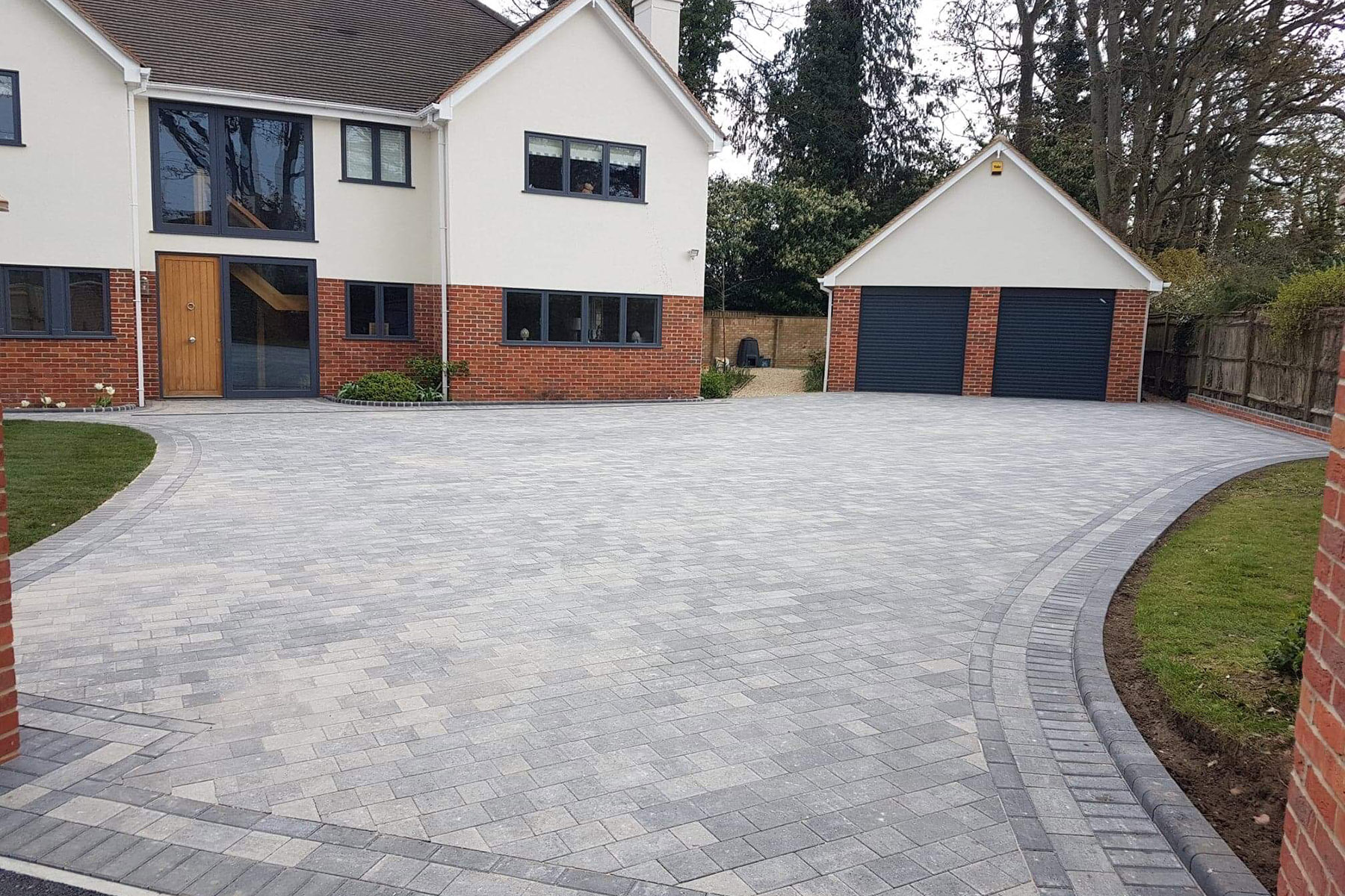 Driveway design and reconstruction in Henley-on-Thames