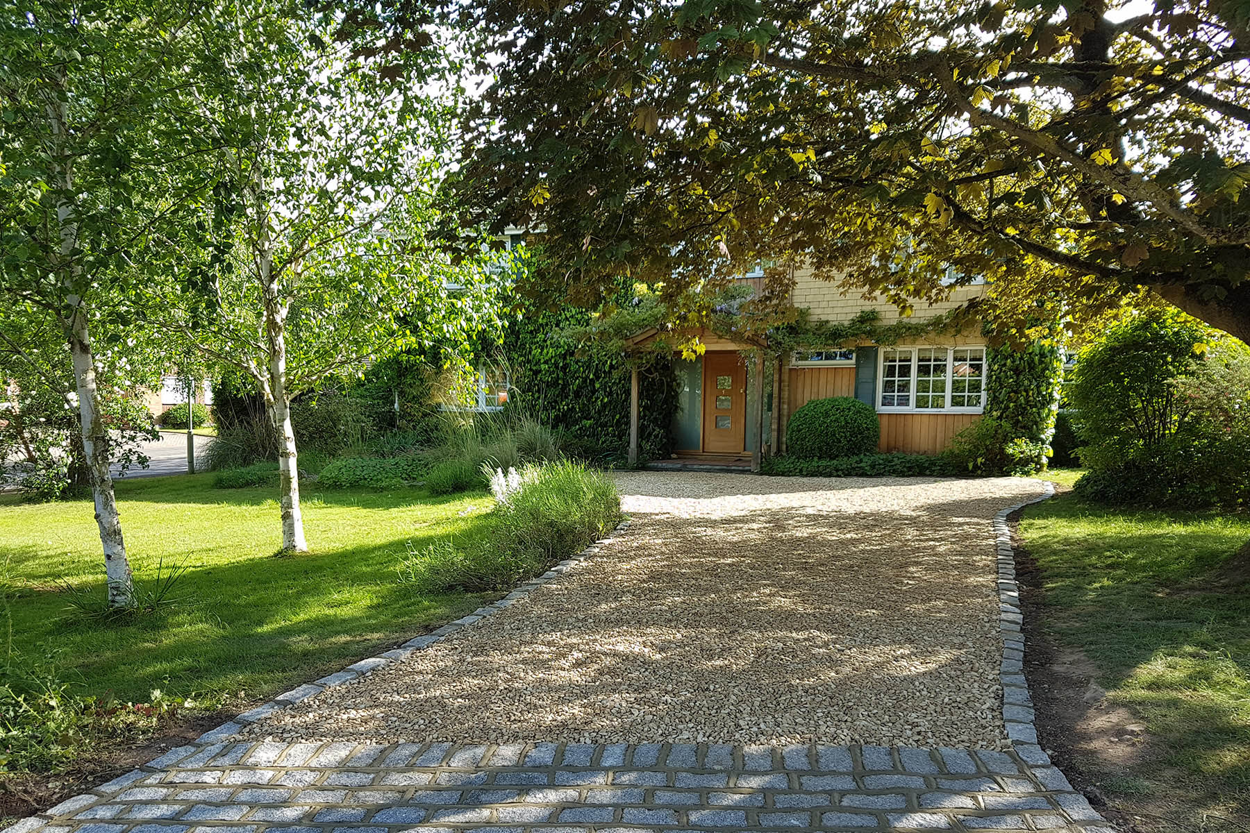 Gravel Driveway project in Henley-on-Thames, Reading