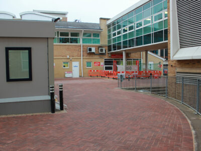 6 royal berkshire hospital paving area